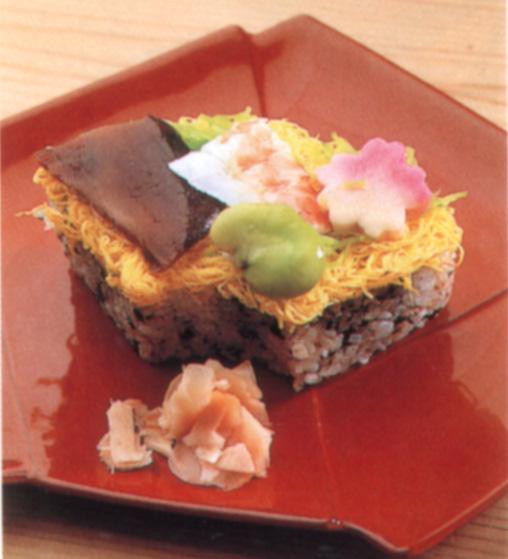 扇ちらし寿司