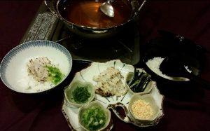 10月限定ランチ【炙り鱧の出汁茶漬け】3000円