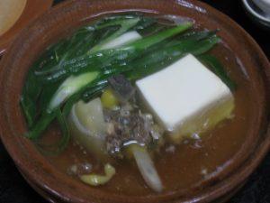 京の冬の絶品すっぽん鍋